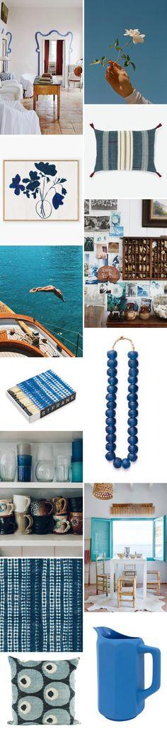 color story: mediterranean blue.