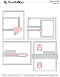 MFT Printable Resources | Blueprints Sketches – My Favorite Things