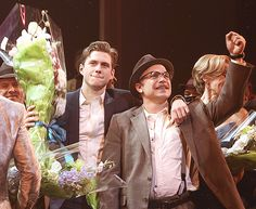Aaron Tveit and Norbert Leo Butz ♥ catch me if you can!