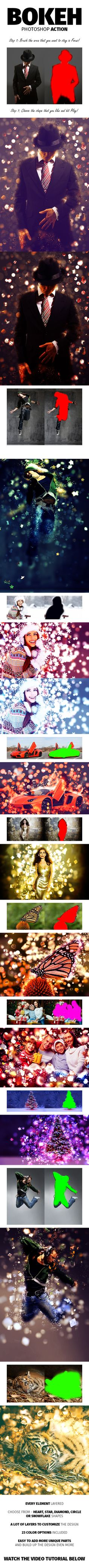 Bokeh Photoshop Action #photoeffects #actions Download: http://graphicriver.net/item/bokeh-photoshop-action/9724816?ref=ksioks