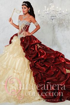 Used yellow quinceanera dress by house