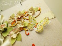 Gabi M. craftuje: {WEDDINGS} Motýlek v novém kabátku :)
