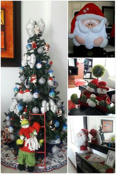 Christmas Tree, Holiday Decor, Home Decor, Blue Prints, Teal Christmas Tree, Decoration Home, Room Decor, Xmas Trees, Christmas Trees