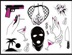 Tattoo Dotwork, Graffiti Lettering Fonts, Black Ink Tattoos, Tattoo Flash Art, Dot Work, Lower Back Tattoos, Aesthetic Art, Picture Tattoos, Tattoo Drawings