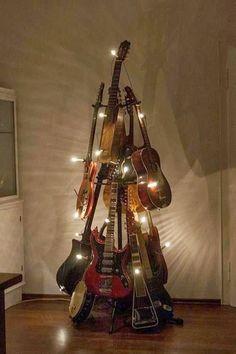 Guitar Christmas tree anyone?