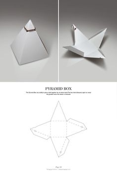 >>>Pandora Jewelry OFF! >>>Visit>> Pyramid Box - Packaging Dielines: The Designers Book of Packaging Dielines Fashion trends Fashion designers Casual Outfits Street Styles Packaging Dielines, Tea Packaging, Paper Packaging, Packaging Design, Packaging Nets, Candle Packaging, Retail Packaging, Diy Gift Box, Diy Box