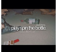 Doing this at a party.