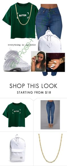 """Untitled #637"" by lil-rose-productions ❤ liked on Polyvore featuring Herschel Supply Co."
