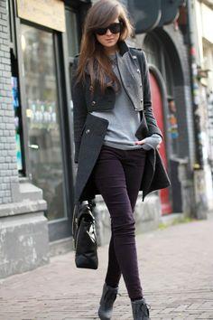 Fashion Mode, Look Fashion, Fashion Outfits, Womens Fashion, Fashion 2014, Street Fashion, Looks Street Style, Looks Style, Style Me