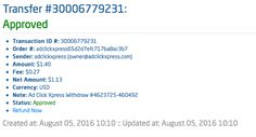 ACX is the MOST POWERFUL & SIMPLEST PROGRAM ONLINE! New 30/70 Rule GUARANTEES... Here is my Withdrawal Proof from AdClickXpress. I get paid daily and I can withdraw daily. Online income is possible with ACX, who is definitely paying - no scam here.I WORK FROM HOME less than 10 minutes and I manage to cover my LOW SALARY INCOME. If you are a PASSIVE INCOME SEEKER, then AdClickXpress (Ad Click Xpress) is the best ONLINE OPPORTUNITY for…