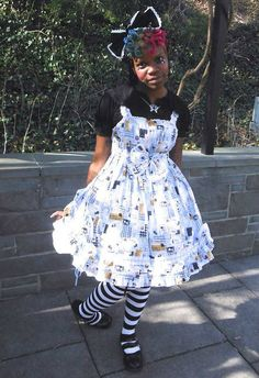 More looks by Ipukekawaii Imani K. Brown: http://lb.nu/ipukekawaii  #lolita #bodyline #bittersweet