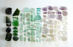 You can collect things like these on your sea side vacations!! Really Big Sea Glass, via Flickr.