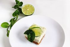 Food styling - Homemade lime raw cake