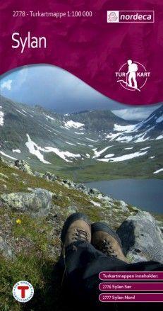Sylan – 1 :100 000 – Coffret de 2 cartes de randonnée Nordeca-Turkart n°2778