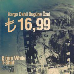 8mm White T-shirt