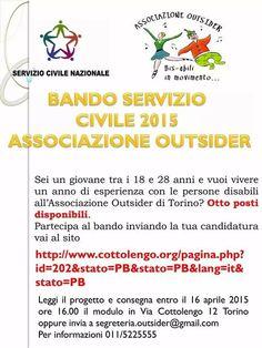 Bando servizio civile 2015 opportunità per i giovani.