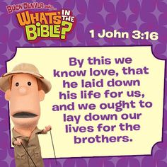 1 John 3:16 Verse of the Day