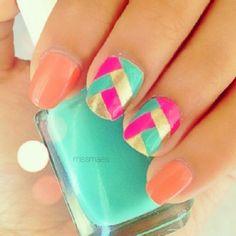 my spring nails....................... (Beauty Look)   ipsy