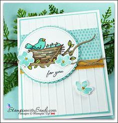 Flying Home Stampin Up card by Sandi @ stampinwithsandi.com