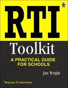 RTI - The Reading & Writing Project has developed a guide to RtI implementation.