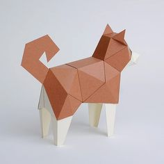 bog craft|立體動物紙藝 狗/TINY | 有.設計 uDesign