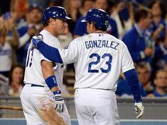 Los Angeles Dodgers: A.J. Ellis and Adrian Gonzalez'