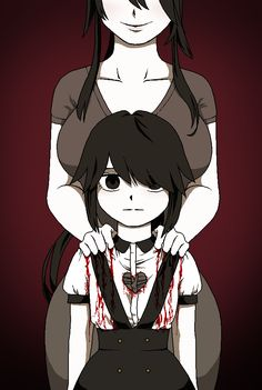 Ayano Aishi's Childhood by moread | Ryoba Aishi | Yandere Simulator | love this