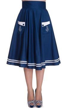 Hell Bunny's Ahoy Matey skirt belongs in my closet