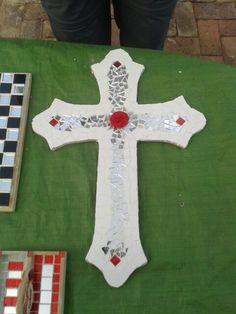 Mooi kruis - mosaiek