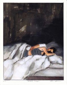 Striped Sleeper by tastesorangey