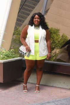 The Crop Top Short Set That You Need – Everything Curvy and Chic