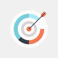 achievement, aim, ambition, arrow, aspirations, bulls eye, bullseye, business, center, chart, darts, data, diagram, finance, goal, graph, marketing, mission, objective, shoot, sport, strategy, success, target, targeting icon