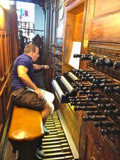 Vater Organ at the Oude Kerk in Amsterdam where Sweelinck once presided