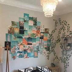 Peachy Pink Collage Kit Indie Room Decor, Diy Room Decor For Teens, Teen Room Decor, Home Wall Decor, Bedroom Decor, Bedroom Colors, Bedroom Ideas, Wall Collage Decor, Photo Wall Collage