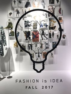 """BARNEY'S NEW YORK, Ginza, Tokyo, Japan, """"Ding, Ding, Ding... Fashion is Idea"""", (Fall/Autumn), photo by ZAK, pinned by Ton van der Veer"""