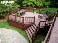 deck design - hot tub