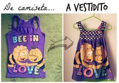 #DIY #costura #vestido de niña