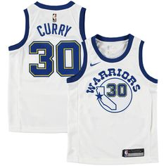 Stephen Curry Golden State Warriors Nike Youth Hardwood Classics Swingman  Jersey – White 52b598b50