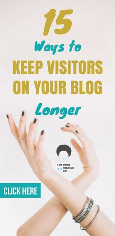 Do you plan to start a blog? That's great. Something that plays a big part when it comes to blogging for beginners is keeping visitors on your blog. Those that have learned how to keep readers are the ones making extra income and succeeding in blogging, learn how you can to.