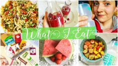 What I eat in a day/season/year