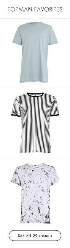"""""""TOPMAN FAVORITES"""" by hankristina ❤ liked on Polyvore featuring men's fashion, men's clothing, men's shirts, men's t-shirts, mens slim fit t shirts, mens grey shirt, mens gray dress shirt, mens longline t shirt, mens cotton shirts and tops"""