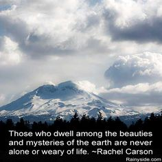 Those who dwell among the beauties and mysteries ...