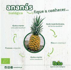 Brio, Supermercados Biológicos - Benefícios do Ananás