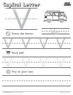 Alphabet Practice Sheet | Lotty Learns