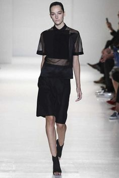 #NYFW - Runway: Victoria Beckham Spring 2014 Ready-to-Wear Collection #victoriabeckham