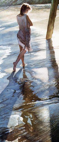 Steve Hanks - Paradise Cove - Small Print