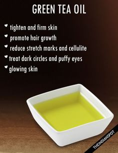 HOMEMADE GREEN TEA OIL RECIPE ALONG WITH BENEFITS AND USES | THEINDIANSPOT