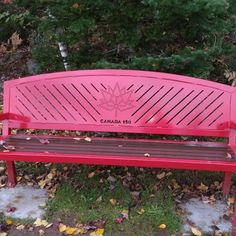The Red Bench of Kings County