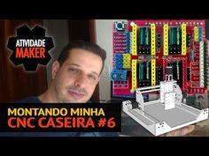Montando minha CNC Caseira #16 - Novo EIXO Z + SketchUp + SketchUcam + Fresamento - YouTube