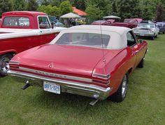 1968 Pontiac Beaumont Convertible.